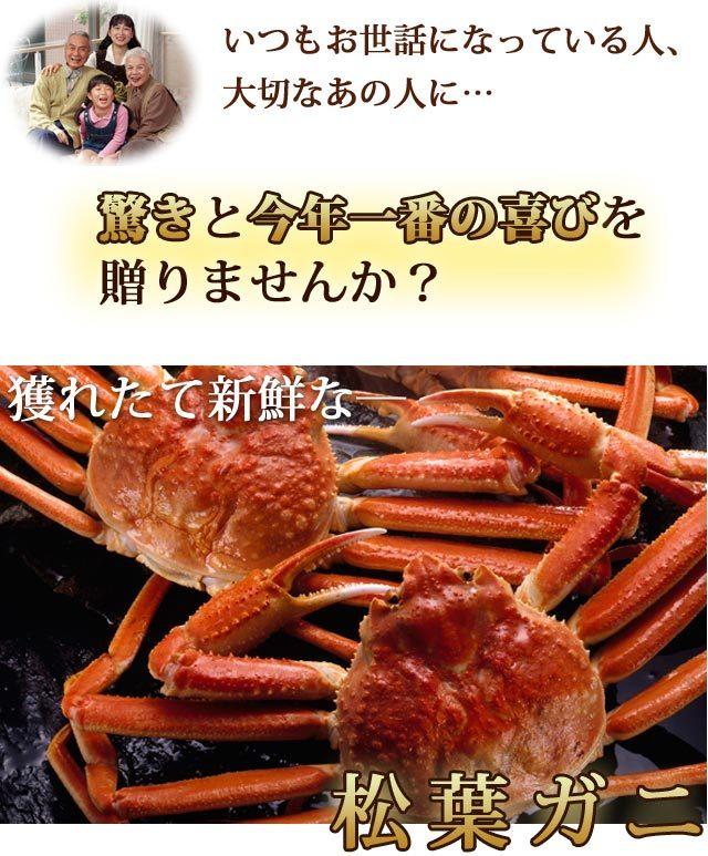 活×2カニ.com松葉ガニ